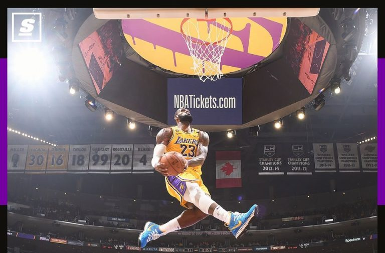 Lebron About The Iconic Dunk Kobe Put Himself In My Body Epicbuzzer